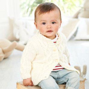 Coats in Stylecraft Special for Babies Aran (9344)