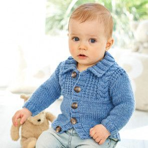 Cardigans and Hat in Stylecraft Special for Babies Aran (9345)