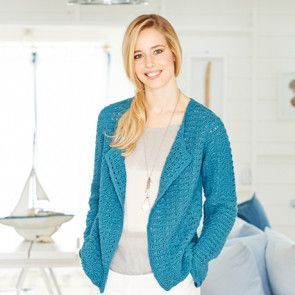 Cardigan and Vest in Stylecraft Classique Cotton DK (9378)
