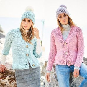 Cardigans in Stylecarft Special XL (9593)