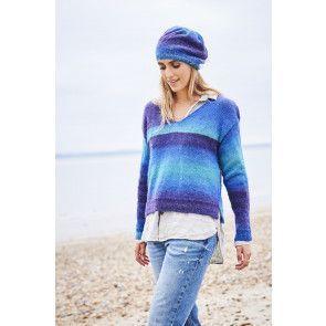 Sweater, Beret and Snood in Stylecraft Dream Catcher DK (9596)