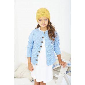 Cardigan and Hat in Stylecraft Bambino DK (9610)
