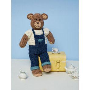 Crocheted Bear In Stylecraft DK (9669)