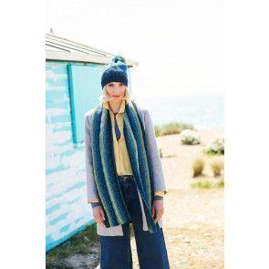 Jacket, Scarf and Hat in Stylecraft Batik Swirl DK (9673)