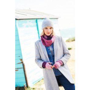 Sweater, Snood and Wrist Warmers in Stylecraft Batik Swirl DK (9674)