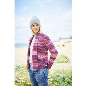 Sweater and Jacket in Stylecraft Carnival Tweed Chunky (9716)