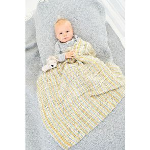 Blanket, Hats, Mitts and Booties in Stylecraft Bambino Prints DK (9748)
