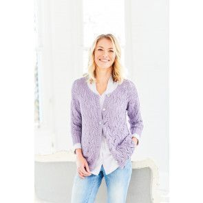 Cardigan and Vest in Stylecraft Naturals Bamboo Cotton DK (9752)