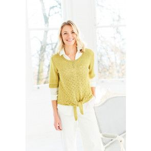Cardigan and T-Shirt in Stylecraft Naturals Bamboo Cotton DK (9754)