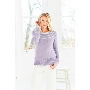Sweater and Cardigan in Stylecraft Naturals Bamboo Cotton DK (9755)