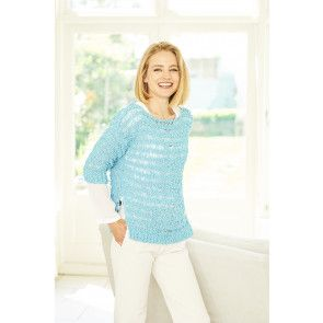 Sweater and Cardigan in Stylecraft Pearls (9775)