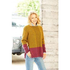 Tunics in Stylecraft Highland Heathers DK (9792)