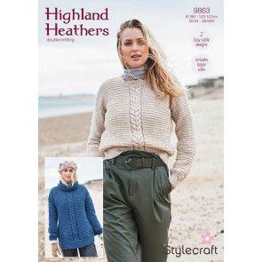 Sweaters in Stylecraft Highland Heathers DK (9863)