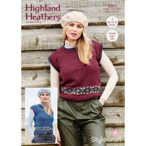 Tank Tops in Stylecraft Highland Heathers DK (9865)