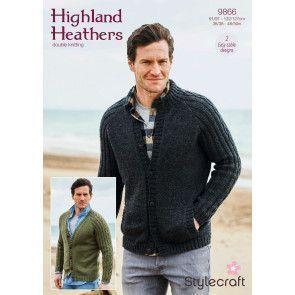 Cardigans in Stylecraft Highland Heathers DK (9866)