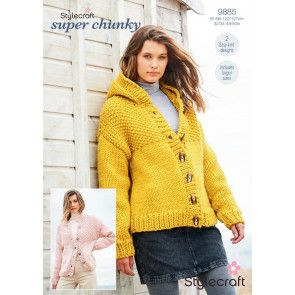 Jackets in Stylecraft Life Super Chunky and Special XL (9885)