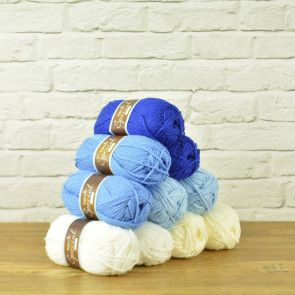 Stylecraft Special Chunky Value Pack - Blue Mix