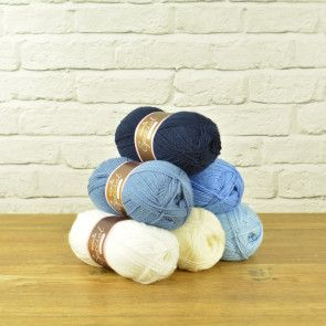 Stylecraft Special DK Value Pack - Blue Mixture