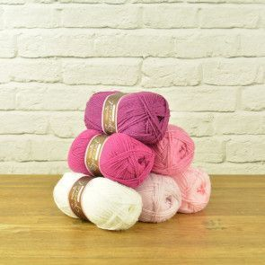 Stylecraft Special DK Value Pack - Pink Mixture