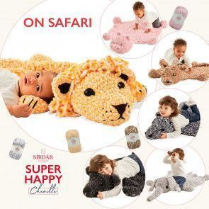 Sirdar Super Happy Chenille - On Safari