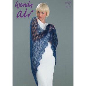 Shawl in Wendy Air (5727)