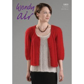 Cardigan and Top in Wendy Air (5803)