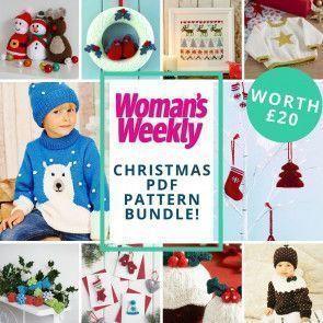 Womans Weekly Christmas Pattern Bundle