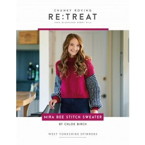 Mira Jumper In in West Yorkshire Spinners Re:Treat