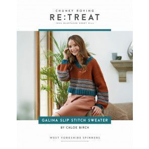 Galina Jumper in West Yorkshire Spinners Re:Treat Pattern