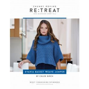 Evania Jumper in West Yorkshire Spinners Re:Treat Pattern