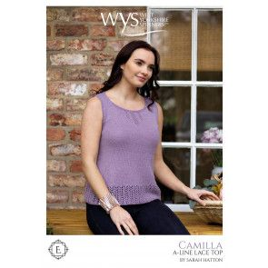 Camilla Top in West Yorkshire Spinners Exquisite Lace Pattern