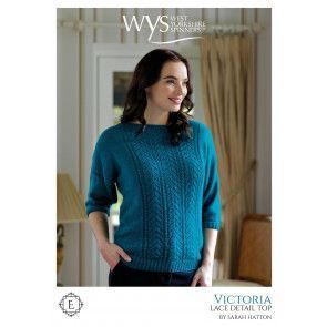 Victoria Tops in West Yorkshire Spinners Exquisite Lace Pattern