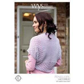Penelope Shrug in West Yorkshire Spinners Exquisite Lace Pattern
