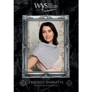 Shawlette in West Yorkshire Spinners Signature Exquisite Lace (55999)