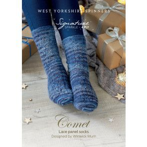 Socks in West Yorkshire Spinners Signature 4 Ply Sparkle (56976)