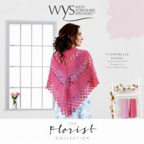 Florabelle Shawl in West Yorkshire Spinners Signature 4 Ply Pattern
