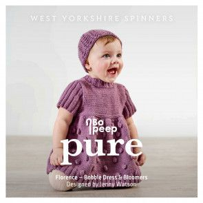 Florence Dress and Bloomers in West Yorkshire Spinners Bo Peep Pure DK (98004)