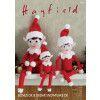 Christmas Elves in Hayfield Bonus DK and Sirdar Snuggly DK (2475)