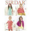 Dress and Cardigans in Sirdar Snuggly DK (4748)