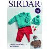 Sweaters and Hats in Sirdar Snuggly Snowflake and Snuggly DK (5161)