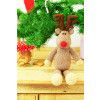 Christmas Reindeer Toy Knitting Pattern