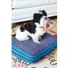 Dog Cushion Crochet Pattern