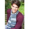 Fair Isle Mens Scarf Knitting Pattern