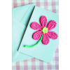 Flower Mother's Day Card Crochet Pattern
