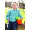 Girls Easter Jumper Knitting Pattern