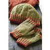 Hat And Fingerless Gloves Knitting Pattern