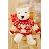 Polar Bear Toy With Sweater Knitting Pattern