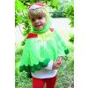 Unisex Childrens Parrot Cape Crochet Pattern