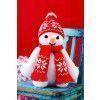 Vintage Snowman Knitting Pattern