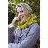 Moss Stitch Cowl Knitting Pattern
